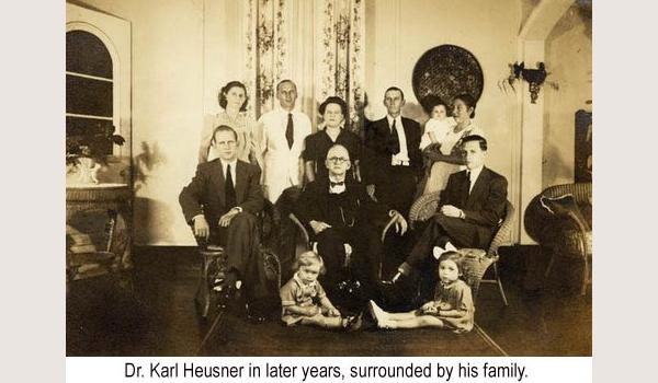Mike's ancestor, Dr. Karl Heusner, Belize City hospital named after him.Mike's ancestor, Dr. Karl Heusner, Belize City hospital named after him