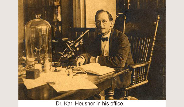 Mike's ancestor, Dr. Karl Heusner, Belize City hospital named after him.Mike's ancestor, Dr. Karl Heusner, Belize City hospital named after him