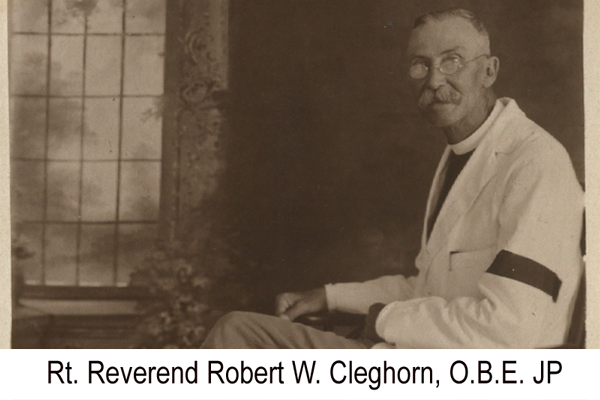 Marguerite's grandfather, Rev. Cleghorn